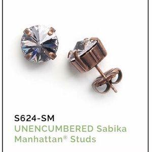 Sabika Unencumbered Manhattan Stud Earrings